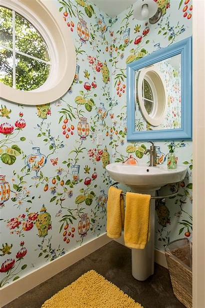 Bathroom Whimsical Yellow Fish Thibaut Bowl Accents