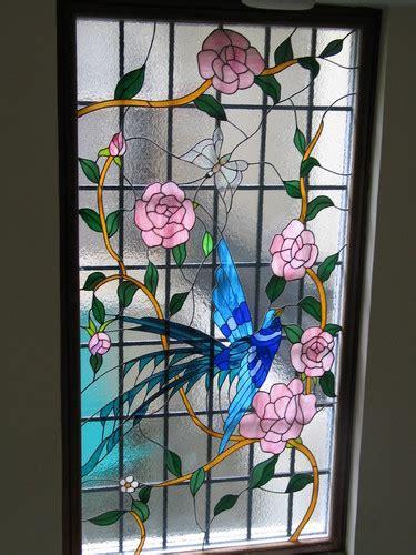 original stained glass stained glass window bird