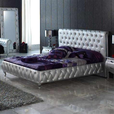 silver and purple bedroom 14 silver bedroom designs for royal look in the home 17061 | 531 630x630