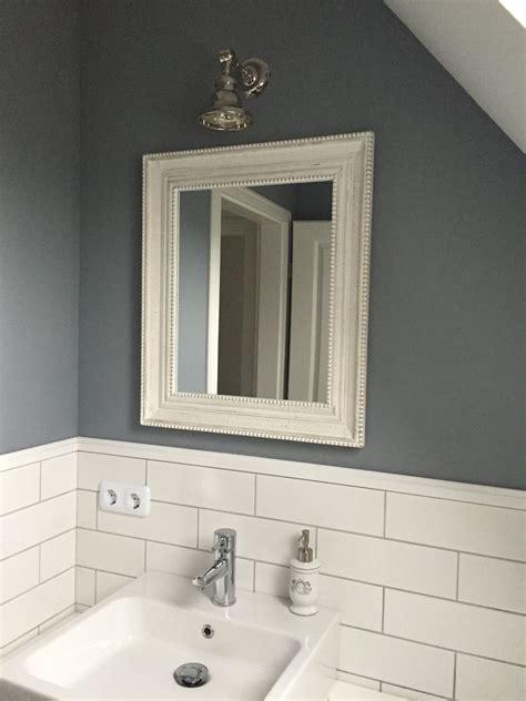 Weiße Fliesen Badezimmer by Badezimmer Bathroom Weiss Grau Mit Metro Fliesen