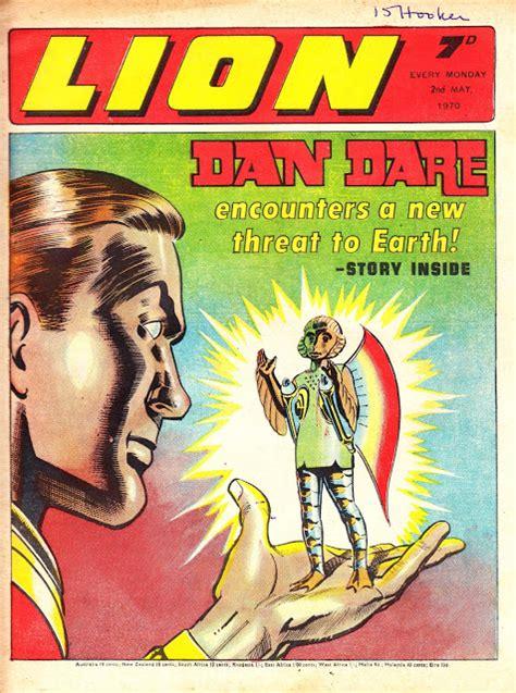 STARLOGGED - GEEK MEDIA AGAIN: 1970: DAN DARE LION COVER (IPC)