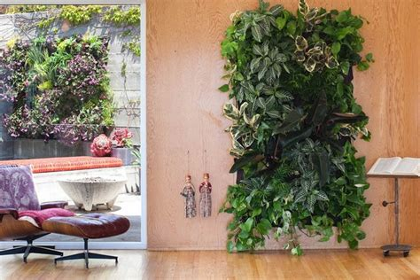 living wall planter modern indoor pots and planters