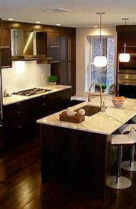 30, Classy, Projects, With, Dark, Kitchen, Cabinets