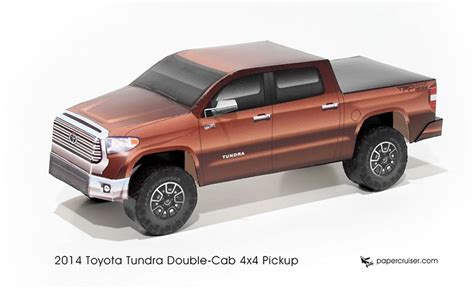 Toyota Tundra Paper Model