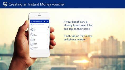 creating  instantmoney voucher youtube