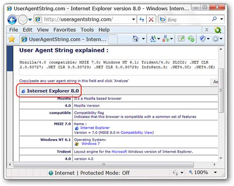 agent user string change tools explorer internet go menu switcher