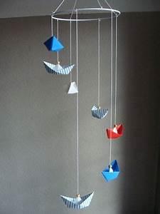 Mobile Basteln Origami : die 25 besten ideen zu boot basteln auf pinterest boote papierboot basteln und origami boot ~ Orissabook.com Haus und Dekorationen