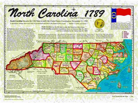 North Carolina Admitted As 12th State Of The Union 230