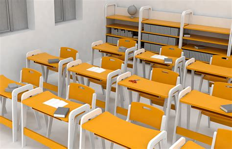 primary school furniture on student show