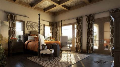 Tuscan Style Bedroom by Tuscan Master Bedroom Pictures Sanctuary Visualization