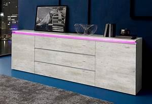 Sideboard 240 Cm : tecnos sideboard breite 240 cm online kaufen otto ~ Frokenaadalensverden.com Haus und Dekorationen