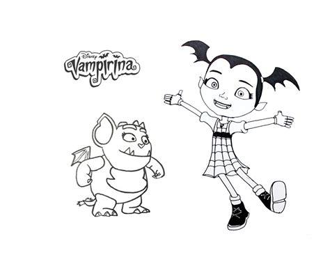 cozy disegni  vampirina da colorare arenda stroy