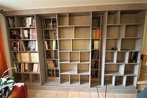 Fabriquer Une Bibliothèque Murale : bibliotheque murale download by bibliotheque mural ikea maison et chaise ~ Louise-bijoux.com Idées de Décoration
