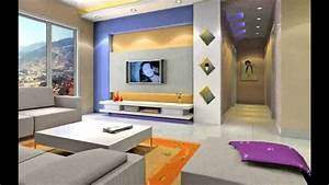 Wall Colour Combination For Living Room Design