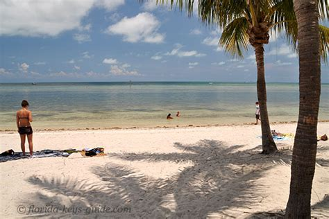 key west beaches   visit florida keys guide