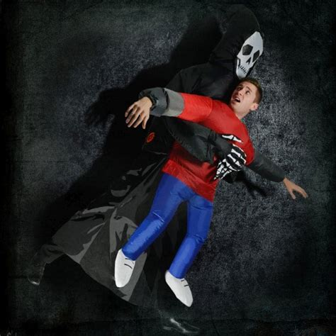 inflatable grim reaper fancy dress find   gift