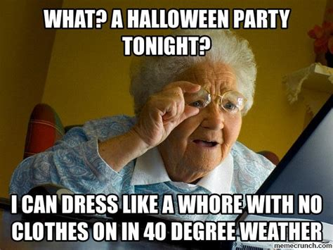 Halloween Party Meme - what a halloween party tonight