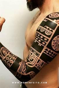 Como Fechar O Bra U00e7o Com Uma Tatuagem Maori  U00fanica