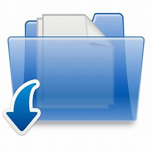 filedownload files 4 you logopng wikimedia commons With documents folder logo