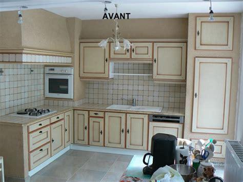 renovation cuisine bois avant apres les cuisines de claudine rénovation relookage relooking