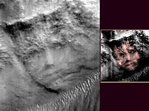 Life on Mars? New Face found on Red Planet, and mysterious ...