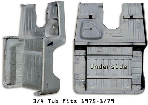 fj40 steel tub tub