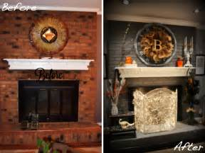 Diy Fireplace Update by Before Amp After 15 Fireplace Surrounds Made Over Page 5