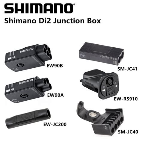shimano di2 ew90a ew90b ew rs910 ew jc200 sm jc41 sm jc40 junction box for dura ace ultegra in
