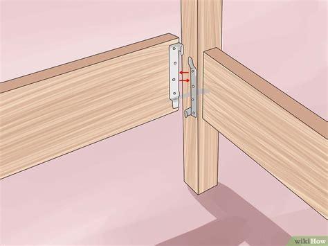 membangun kerangka ranjang kayu wikihow
