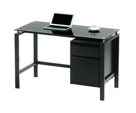 desk office max black glass top desk amstudio52 throughout glass desk