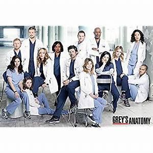 Amazon.com: Grey's Anatomy (Group) TV Poster Print ...