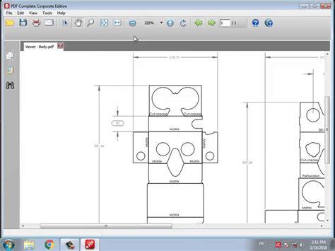 vr cardboard template i am cardboard pdf template