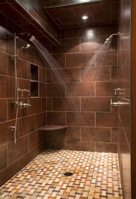 brown bathroom tile ideas  pictures