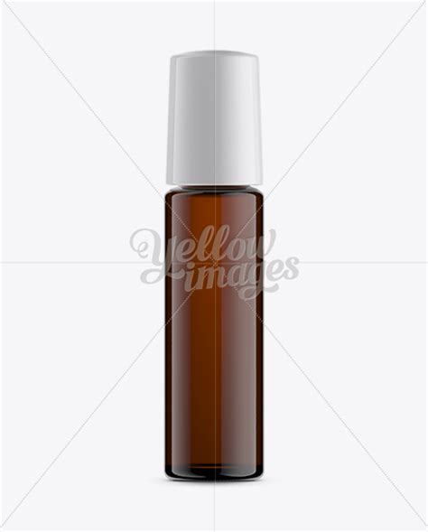 Our roller bottles will give you the perfect application of oils each time, and are a great compliment to your oil dispensing tools. 10ml Amber Glass Roller Bottle Mockup in Bottle Mockups on ...