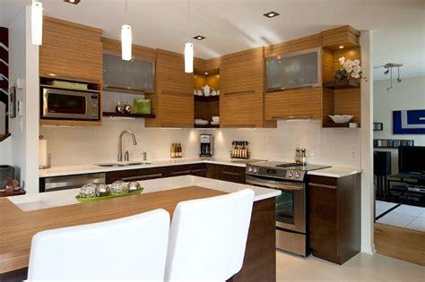 cuisine l davaus cuisine moderne en bois hêtre avec des