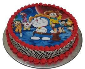 Strawberry Baby Shower Cake by Order Doraemon Cake From Faridabadcake At Best Price