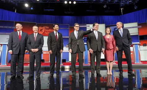Second-tier Candidates Square Off Before Main Republican