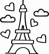 Eiffel Wecoloringpage sketch template