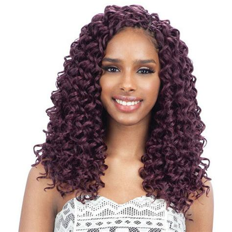 gogo curl  freetress synthetic braid bulk crochet