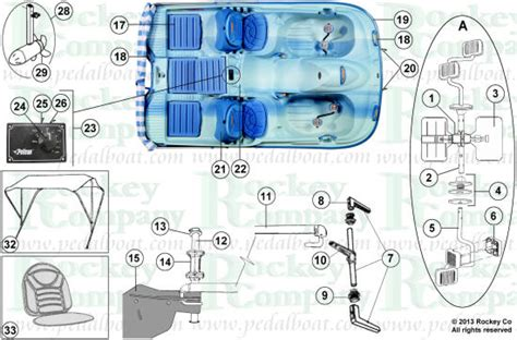 Boat Parts List by Parts From Www Pedalboat