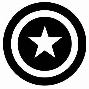 captain-america-shield-Black.jpg 432×432 Pixel | Superhero ...