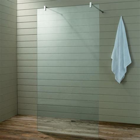 Wet Room Glass Shower Screen, 900x1900x10mm. Matrix