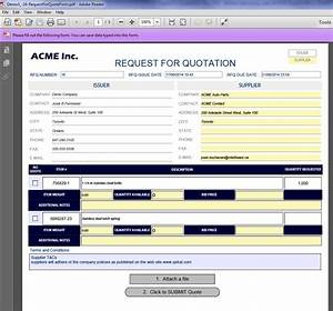 compare rfq responses with ease using quotecubetm With rfq format template