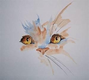 Aquarelle - simple cat … | Pinteres…