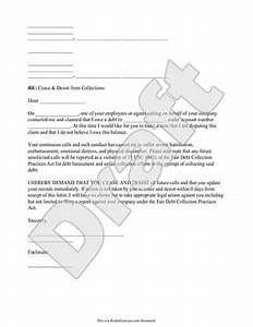 cease and desist letter template for debt collectors - cease and desist letter template rocket lawyer