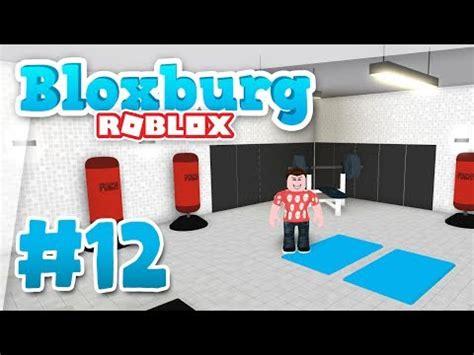 Bloxburg #12  Building A Gym (roblox Welcome To Bloxburg