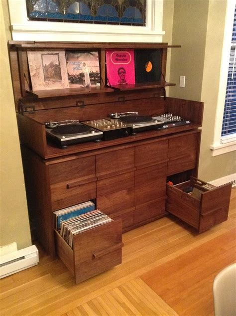 vinyl record cabinet 208 best images about vinyl record storage ideas on
