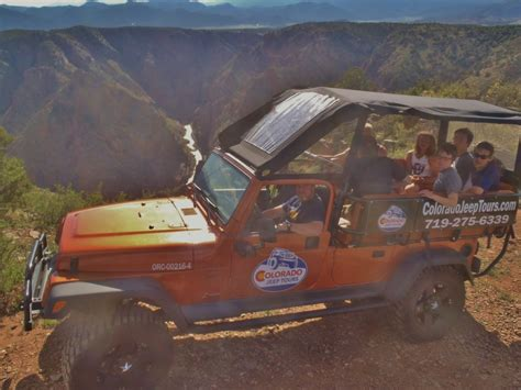 The Royal Gorge Loop  Colorado Jeep Tours