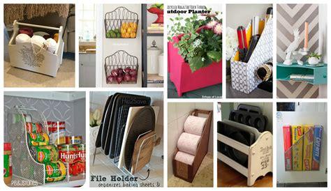 functional ways  repurpose   magazine rack