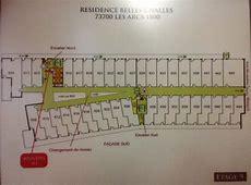 plans des résidences Les Arcs 1800 Location de vacances
